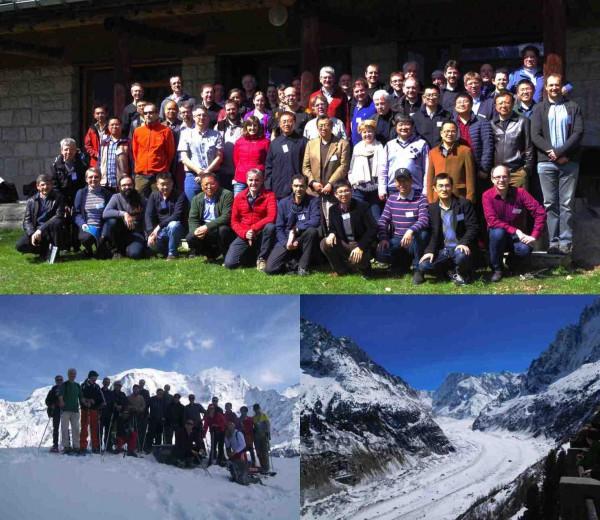 Cet atelier, organisé par un comité de scientifiques sino-français, a réunit 70 participants et a été hébergé dans le cadre montagnard et très convivial de l'Ecole de Physique des Houches. Il a été également l'occasion de faire découvrir à bon nombre de participants la beauté de la vallée de Chamonix au cours d'une après-midi ensoleillée (@CEA).