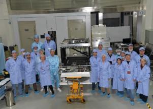 News 2019 Avril – les calculateurs d'ECLAIRs et de MXT se connectent avec le satellite SVOM pour la première fois