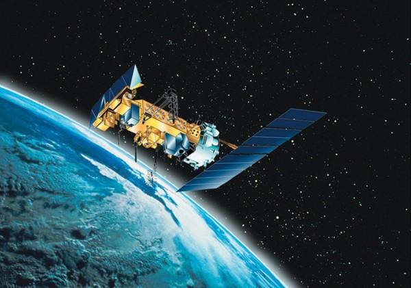 Vue d'artiste NOAA 18,crédit NOAA