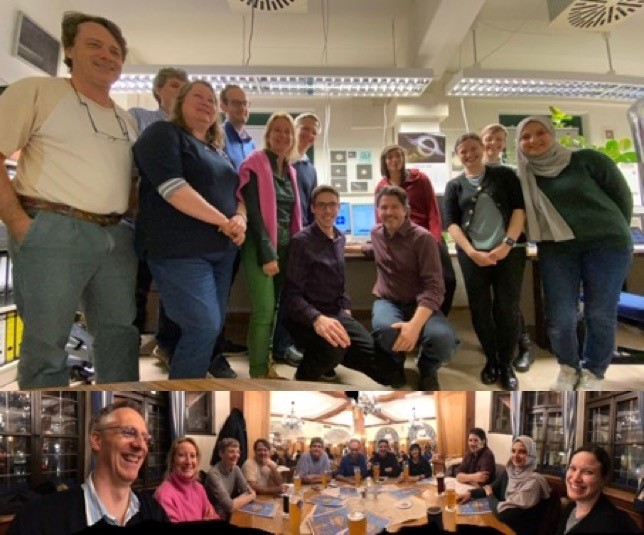 L'équipe MXT célèbre la fin de la campagne de tests de performance à Panter !