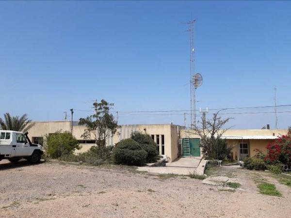 La station a été installée sur le toit de l'observatoire