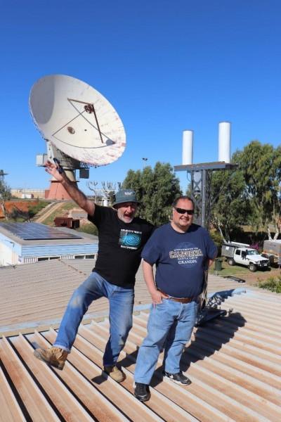 L'installation a été réalisée par une équipe de l'University of Western Australia (UWA).