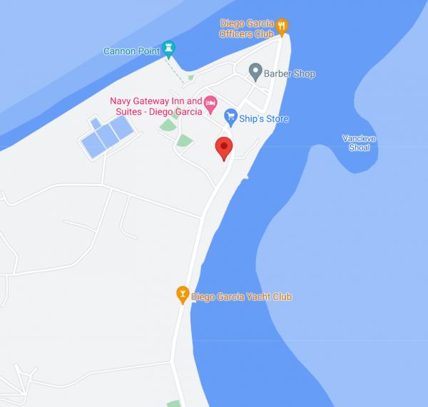 Localisation de la station sur le site de l'opérateur télécom SURE